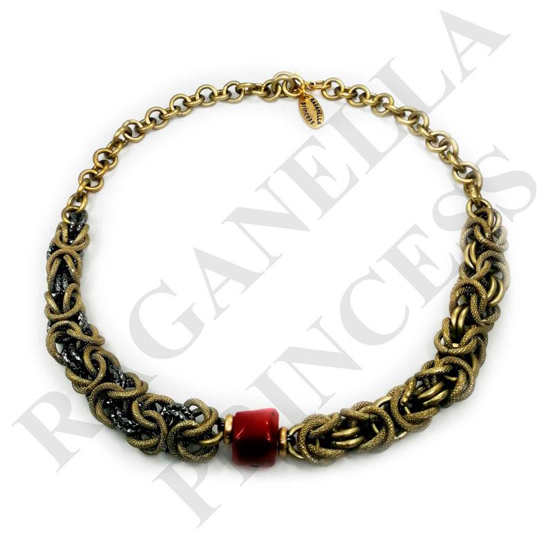 Колье с Византийским плетением - kol1119249