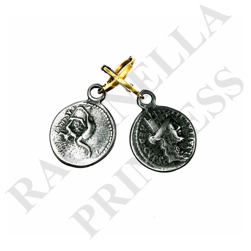 Серьги с Монетами - ser1119181